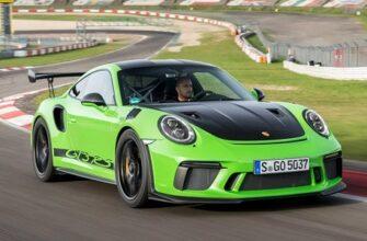 Какое время установил Porsche 911 GT3 RS на Нюрбургринге?