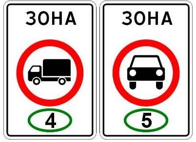 Какие экологические знаки ввели с 1 июля 2018 года в России в ПДД?