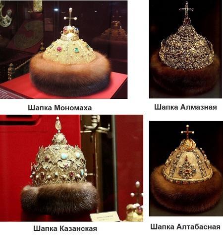 Царские венцы в России