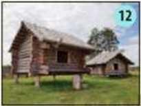 На берегуэтой реки в Новгородской области находится музей под открытым небом Славянская деревня Хвека.