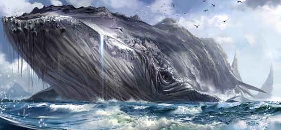 Чудо-юдо рыба кит из фильма Конёк-Горбунок